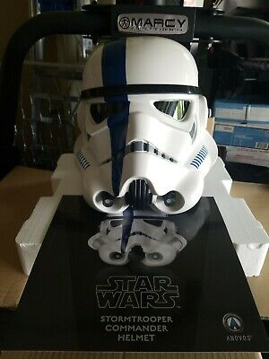 Anovos Star Wars  Stormtrooper Commander Helmet Brand new