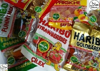 Haribo Halal Sweets Mix & Match Party Pack 1 x 20 pcs / 2 x 20 pcs / 3 x 20 pcs