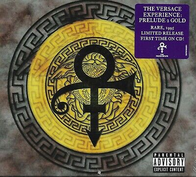 PRINCE CD The Versace Experience 15 Track Digi-Pack 2019 New and SEALED