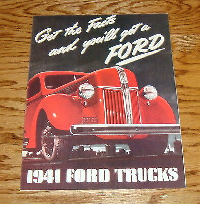 1941 CHEVROLET TRUCK SALES BROCHURE-FULL LINE-COLOR-40 PAGES