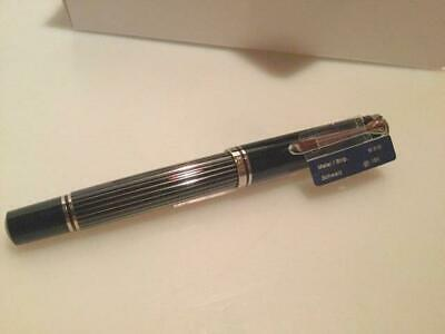 ***START USD 99*** PELIKAN M815 pen; Metal Stripes! SPECIAL DEAL!