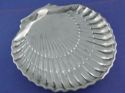Sterling GORHAM nautical Shell shaped footed Dish - heavy - no mono