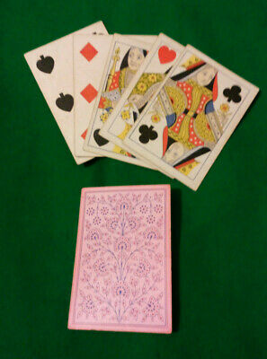 CIVIL WAR / WILD WEST period  LUCKY Poker hand FULL HOUSE Q & 7s  Playing Cards