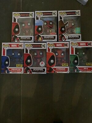 funko pop lot marvel
