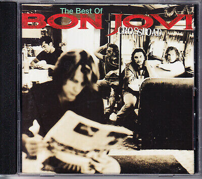 Bon Jovi - Cross Road - The Best Of CD - Greatest Hits Beste Livin' On A Prayer