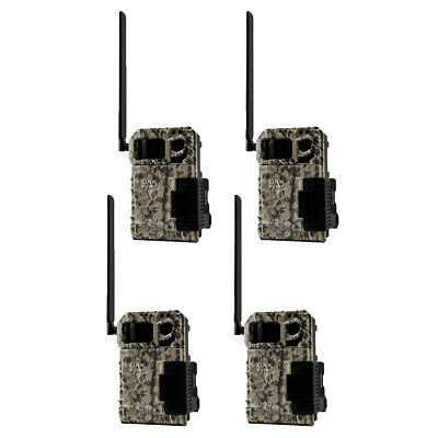 SPYPOINT LINK MICRO Verizon 4G Cellular Hunting Trail Game Cameras (4 Pack)