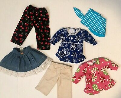 """Lot Of 23 Doll Outfits Clothes Fits Our Generation American Girl 18"""" Inch Dolls"""