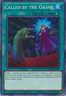 Yu-Gi-Oh! Called by the Grave -EXFO-ENSE2 - Super Rare - Limited Edition NM MINT