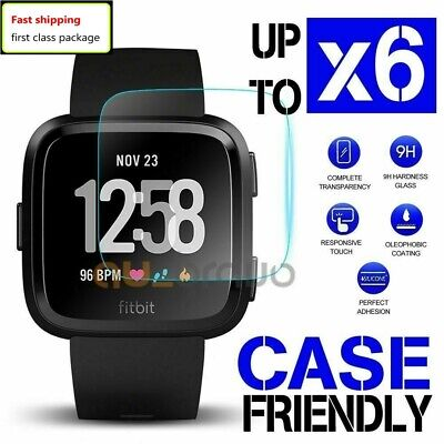 For Fitbit Versa Lite / Versa Screen Protector Tempered Glass Full Coverage