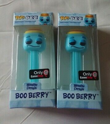 Funko Pop Pez BOO BERRY Monster Cereals Game Stop Exclusive Black Friday NIB