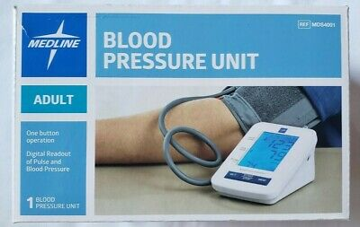 Medline MDS4001 Automatic Digital Blood Pressure Monitor with Standard Adult Cuf