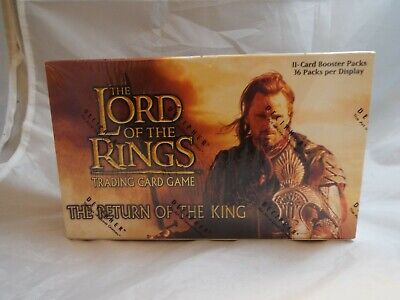Lord Of The Rings Tcg Return Of The King Sealed Booster Box Of 36 Packs