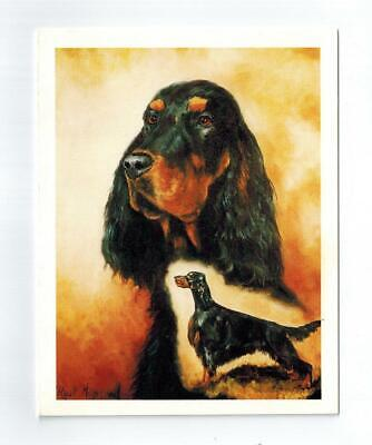 New Gordon Setter Pair 6 Note Cards (Notecard) 6 Envelopes Ruth Maystead SEG-2