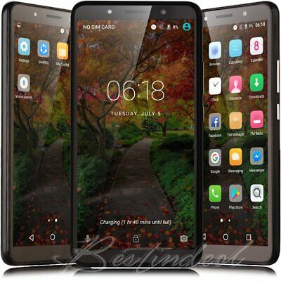 "6.0"" Cheap Factory Unlocked Android 8.0 Cell Smart Phone Quad Core Dual SIM 3G"