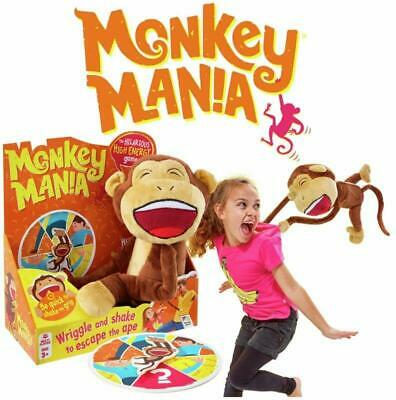 Monkey Mania Game Family Adult Kids Spinner Electronic Games Toy 1+ Players Gift