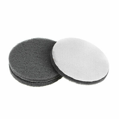 5Inch 1000 Grit Drill Power Brush Tile Scrubber Scouring Pads Cleaning Tool 3pcs