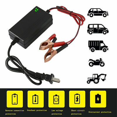 12V Trickle Charger Battery Maintainer Motorcycle Car Boat ATV Tender Maintainer