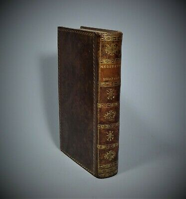 MEDITATIONS AND CONTEMPLATIONS by JAMES HERVEY A. M. 1787 Francis & Rivington