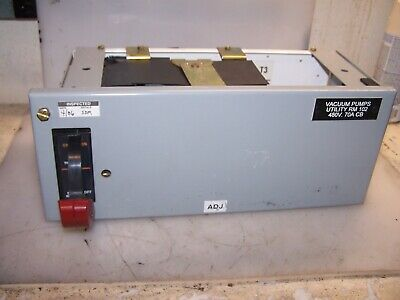 "Ge 8000 Series 100 Amp 6"" Half Feeder Bucket Sela36At0100 W 70A Plug Srpe100A"