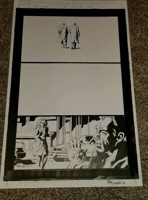Amazing Spider-man artist by Mike Deodato Jr. Dream Police issue 1 Page 33