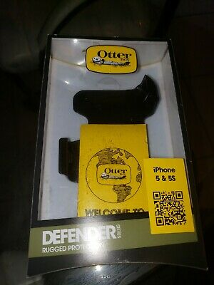 OtterBox Defender Series Phone Case for Apple iPhone - Black