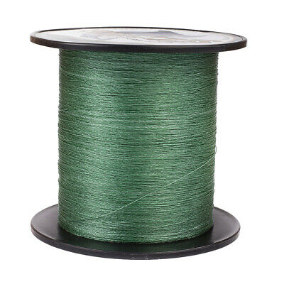 100M 109Yds 6LB Test Green Hercules PE Braid Fishing Line 4 Strands Super Strong