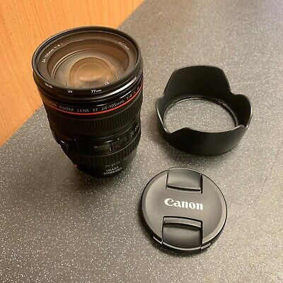 (NE6) CANON ZOOM LENS EF 24-105MM F4 L IS USM inc. HOOD