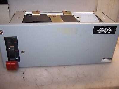 "Ge 8000 Series 30 Amp 6"" Half Feeder Bucket Sela36At0030 W 20A Plug Srpe30A"