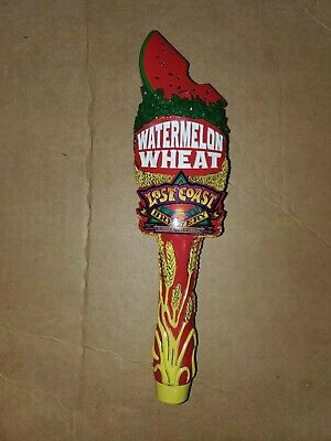 Lost Coast Brewery Watermelon Wheat tap handle