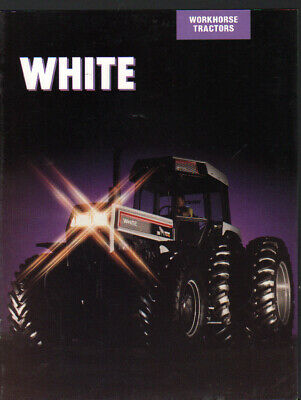 White 125, 145, 170 and 195 Workhorse Tractor Brochure Leaflet