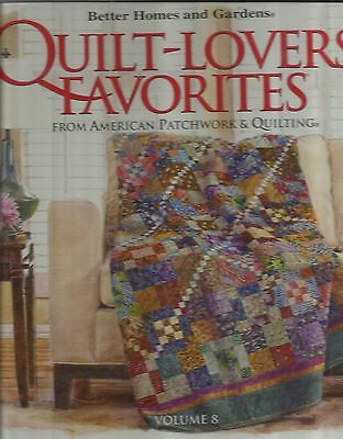 Better Homes & Gardens-Quilt Lovers Favorites From Patchwork & Quilting  Vol. 8