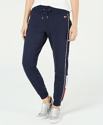 New Womens Tommy Hilfiger Ladies Joggers Sweatpants Yoga Gym Athletic Sport Pant