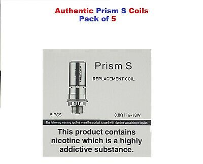 INNOKIN ENDURA T18e, T20S Prism S Coils- 0.8 / 1.5 - PACK OF 5   AUTHENTIC STOCK