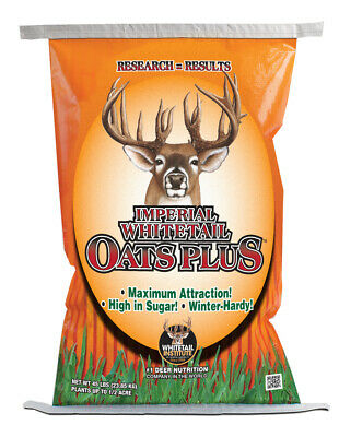 10 # IMPERIAL OATS PLUS Whitetail Institute Deer Plot Seed High Protein FALL OAT