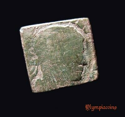 ** AMAZING  ** Ancient Byzantine one tremissi WEIGHT ** MADE OF ROMAN COIN **