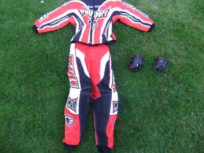 "Wulfsport rampage Child Kids Motocross Race Suit top Jacket 30""& Pants Set 26"""