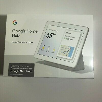 GOOGLE HOME HUB with Voice Assistant GA00516-US Smart Device NEW FACTORY SEALED