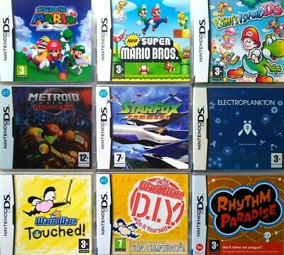 390 Giochi Ds Per Bambini Nintendo New 2Ds Xl- 3Ds Xl- 3Ds - 2Ds - Nds - Ndsi Xl