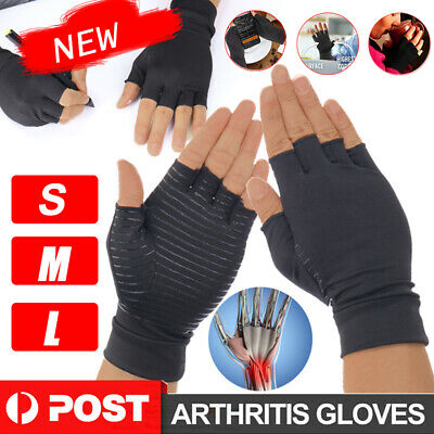 Compression Arthritis Gloves Wrist Brace Support Carpal Tunnel Hand Pain Relief