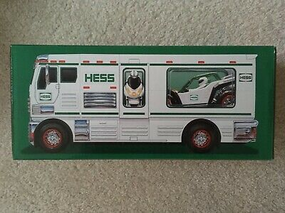 Hess 2018 Toy Truck - RV with ATV and Motorbike NEW SEALED in BOX