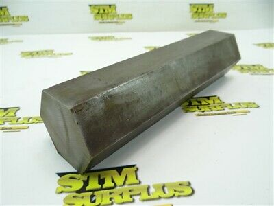 "16Lb Lot Of Solid Steel Hex Stock 2-1/2"" X 10-1/2"""