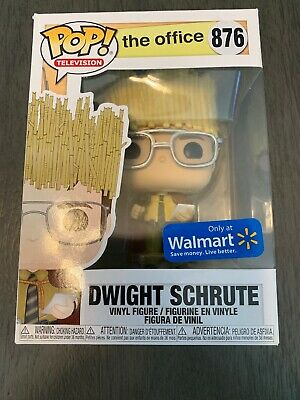 funko pop dwight Schrute Exclusive Walmart #876 The Office Conditions 9.5/10