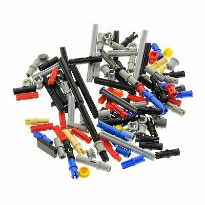 Lego Technic Grey Beams Levers Frames New Genuine 220 Parts in Total