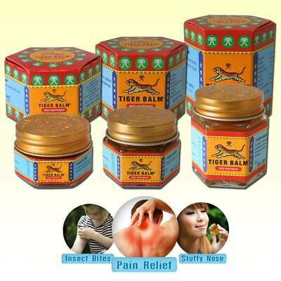 Tiger Balm Red Ointment For Muscle Pain Aches Thai Herbal Relief Massage New 30G