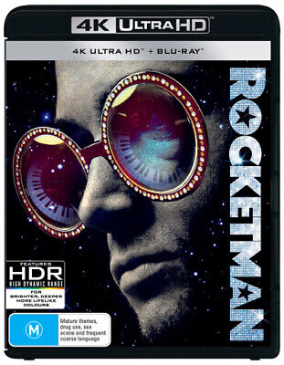Rocketman (4K Uhd/Blu-Ray) (2019) [New Bluray]