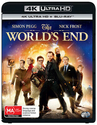 The World's End (4K Uhd/Blu-Ray) (2013) [New Bluray]