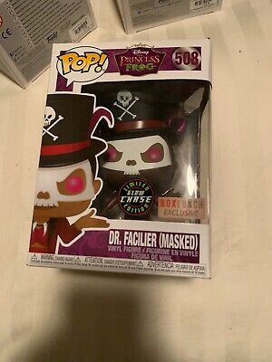 Funko Pop Vinyl Dr. Facilier Box Lunch Exclusive Princess And The Frog CHASE NEW