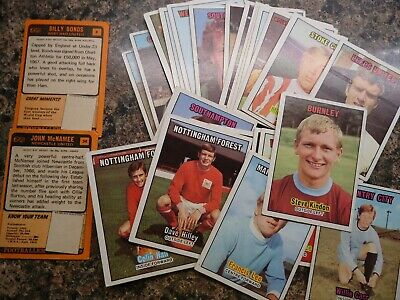 A&BC Orange Back Football Cards 1970 - 3rd  Series -VGC- Pick The Cards You Need