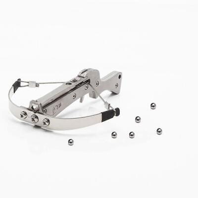 """Powerful Stainless Steel Mini Crossbow Launching 4 mm Steel Ball Length 4"""""""