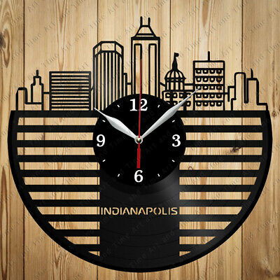 Indianapolis Colts Football Wall Clock Home Office Room Decor Gift
